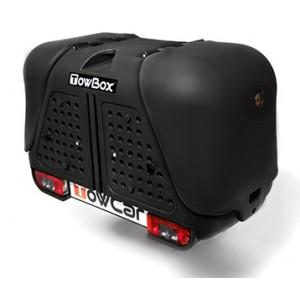 Portaperros TowBox V2 Dog Black Edition