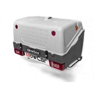 Portaequipaje TowBox V1 Gris + Placa V20 + Kit fijación