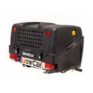 Portaperros TowBox V1 Dog Black Edition
